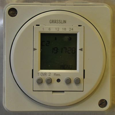 2 Channel, 24/7 Programmable Timer